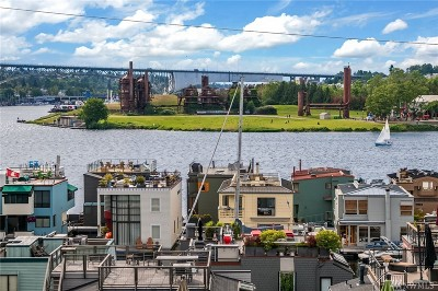 Seattle Single Family Home For Sale: 80 E Roanoke St #5