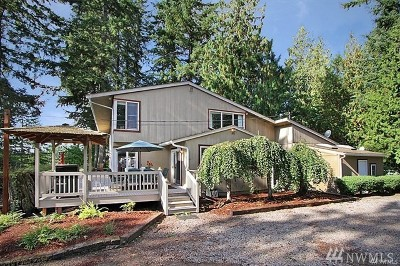 Monroe Single Family Home For Sale: 29321 Lake Chaplain Rd