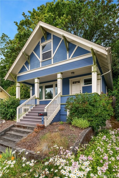 Seattle Single Family Home For Sale: 3646 22nd Ave SW