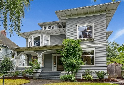 Seattle Single Family Home For Sale: 927 21st Ave E