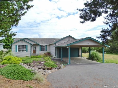 Grays Harbor County Single Family Home For Sale: 542 Pt Brown Ave SE