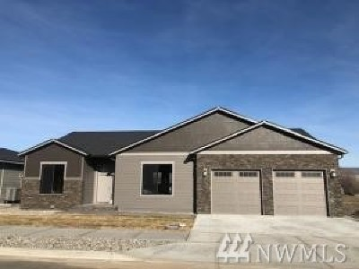 Wenatchee Single Family Home For Sale: 997 Spring Mountain Dr
