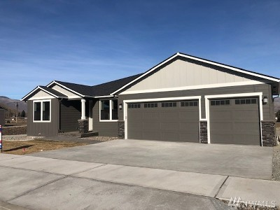 Wenatchee Single Family Home For Sale: 989 Spring Mountain Dr