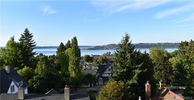 Tacoma Condo/Townhouse For Sale: 909 N I St #406