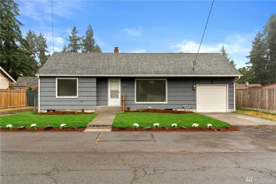 Olympia Single Family Home For Sale: 7310 11th Ave NE