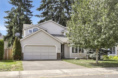 Pierce County Single Family Home For Sale: 8314 184th St. Ct E