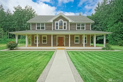 Poulsbo Single Family Home For Sale: 2352 Back Forty Lane NW