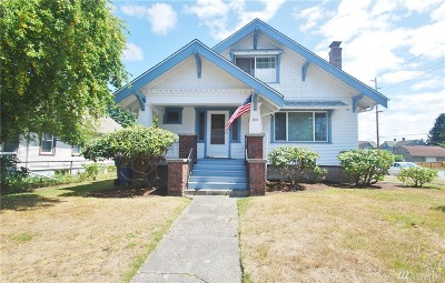 Tacoma Single Family Home For Sale: 3639 S L St