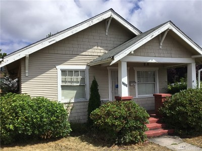 Tacoma Single Family Home For Sale: 3203 S 12th