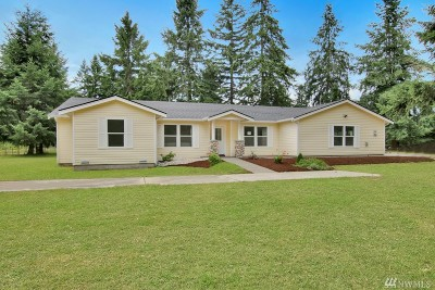 Yelm Single Family Home Pending Inspection: 15839 Ordway Dr SE