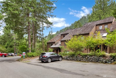 Glacier Condo/Townhouse For Sale: 10500 Mount Baker Hwy