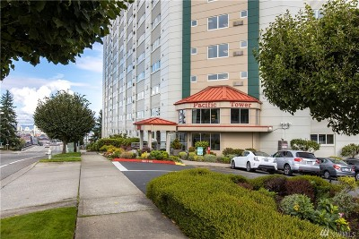 Tacoma Condo/Townhouse For Sale: 3201 Pacific Ave #105