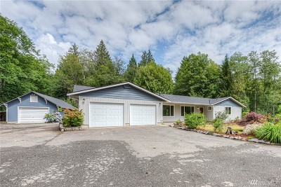 Sedro Woolley Single Family Home Contingent: 11363 Morford Rd