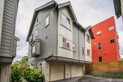 Seattle Single Family Home For Sale: 3928 S Brandon St #A