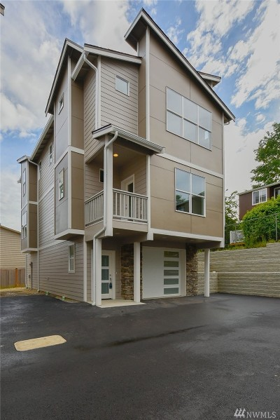 Snohomish Condo/Townhouse For Sale: 1008 Maple Ave