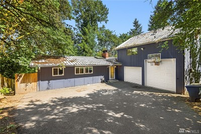 Bellevue Single Family Home For Sale: 1420 109th Ave SE