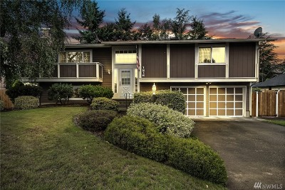 Tacoma Single Family Home For Sale: 1216 135th St Ct S