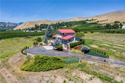 Wenatchee Single Family Home For Sale: 2004 Lower Monitor Rd