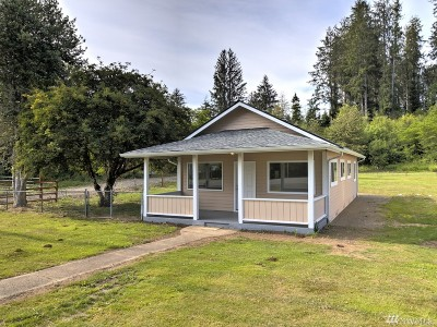 Grays Harbor County Single Family Home For Sale: 1921 Kirkpatrick Rd