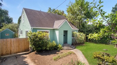 Olympia Single Family Home For Sale: 1521 4th Ave W