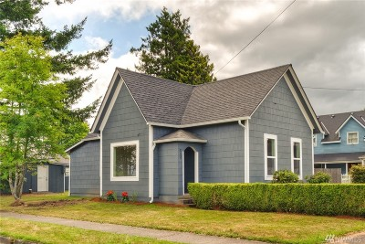 Buckley Single Family Home For Sale: 312 S Cottage St
