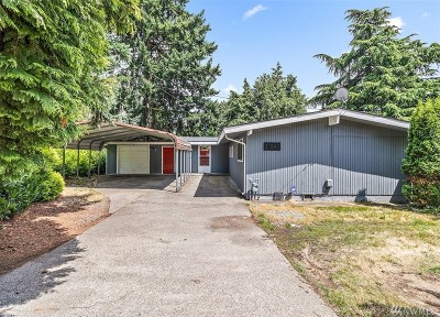 SeaTac Single Family Home For Sale: 21848 Military Rd S