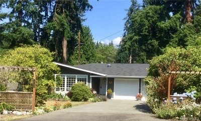 Edmonds Single Family Home For Sale: 19109 Dellwood Dr
