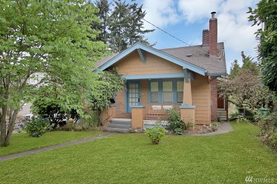 Seattle Single Family Home For Sale: 3908 42nd Ave S