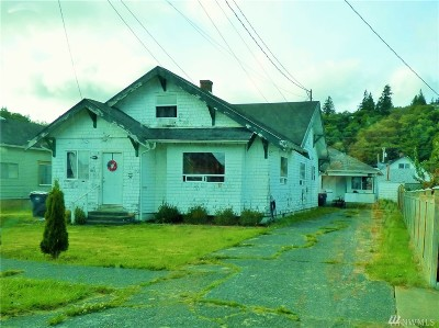 Grays Harbor County Single Family Home For Sale: 435 Karr Ave