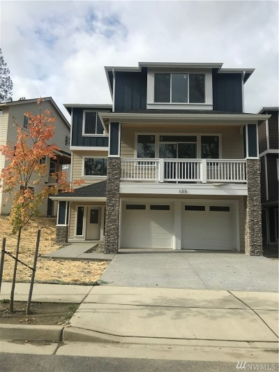 Issaquah Single Family Home For Sale: 655 Bobcat Ln. NW (Homesite 13)