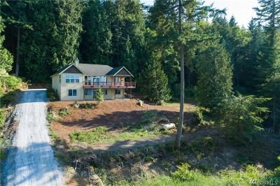 Single Family Home For Sale: 610 Chuckanut Heights Rd