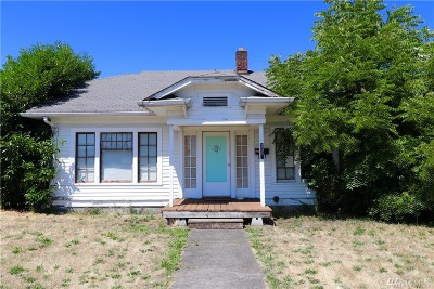 Puyallup WA Single Family Home For Sale: $185,000