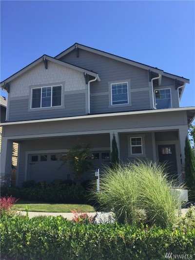 Renton Single Family Home For Sale: 18458 SE 185th Wy #59