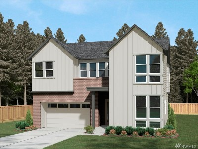 Sammamish Single Family Home For Sale: 1350 244th (Homesite 17) Place NE