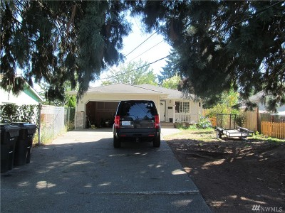 Tacoma Single Family Home For Sale: 1772 S 41st St