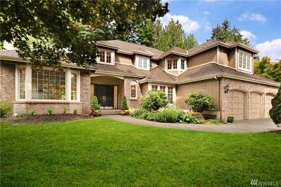 Issaquah Single Family Home For Sale: 4249 185th Place SE