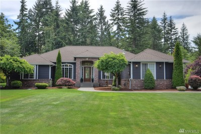 Graham Single Family Home For Sale: 13408 210th St E