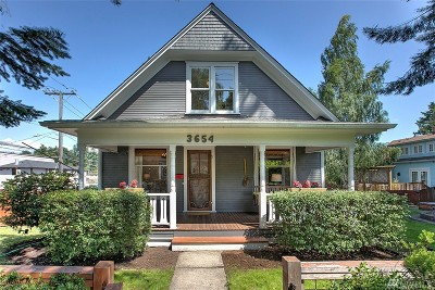 Seattle Single Family Home For Sale: 3654 35th Ave W
