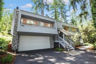 Bellevue WA Single Family Home For Sale: $1,595,000