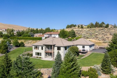 Chelan County Single Family Home For Sale: 4225 W Eaglerock Dr