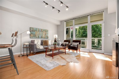 Seattle Condo/Townhouse For Sale: 17 W Mercer St #109