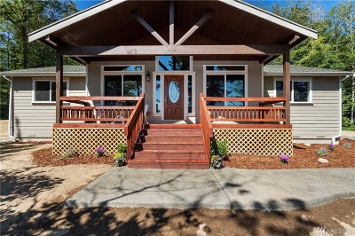 Port Orchard Single Family Home For Sale: 4381 SW County Line Rd