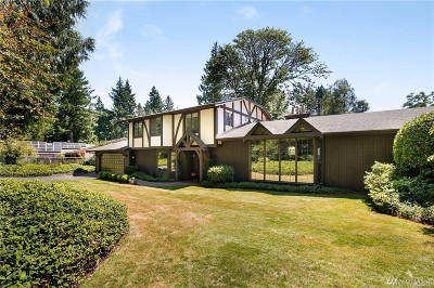 Kirkland Single Family Home For Sale: 7241 NE 129th St