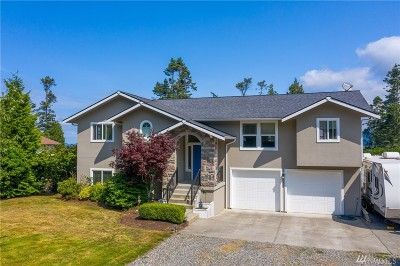 Skagit County Single Family Home For Sale: 4943 Samish Terrace Rd