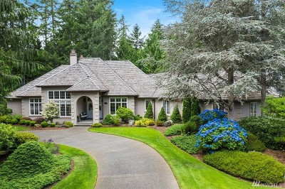 Gig Harbor Single Family Home For Sale: 12711 Tanager Dr NW