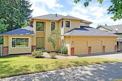 Bothell Single Family Home For Sale: 16423 122nd Place NE