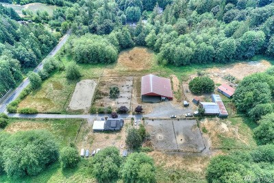 Pierce County Farm For Sale: 11708 Crescent Valley Dr NW