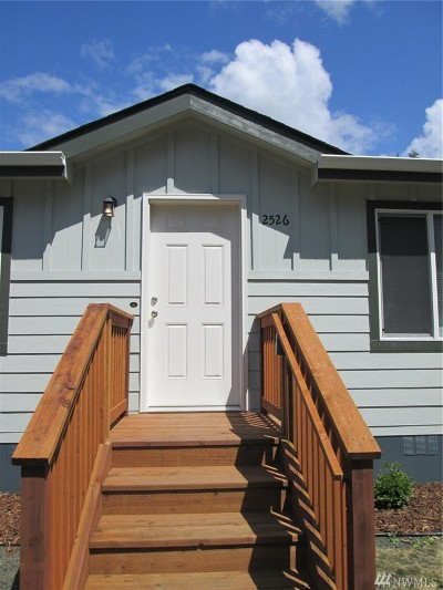 Tumwater Single Family Home For Sale: 2526 114th Ave SW