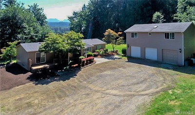 Carnation Single Family Home For Sale: 203 W Snoqualmie River Rd NE