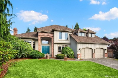 Bellevue Single Family Home For Sale: 6596 151st Place SE